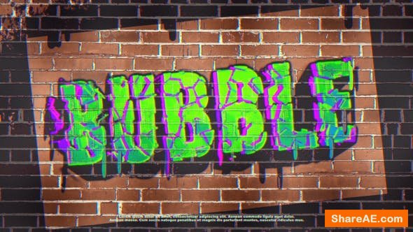 Videohive Graffiti Logo
