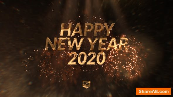 Videohive New Year's Eve Elegant Countdown