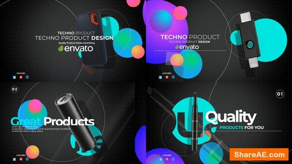 Videohive Technologic Product Promo