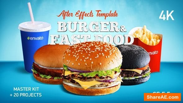 Videohive Burger & Fast Food Promo