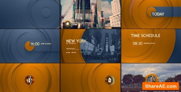 Videohive Circle Broadcast Pack