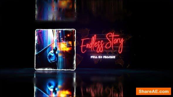 Videohive Endless Story Stylish Slideshow / Youtube Travel Blog/ Digital Slide/ Bright Presentation/ Art Promo
