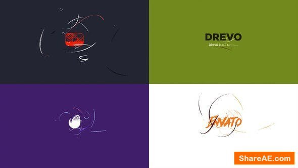 Videohive Simple Art Logo Reveal/ Flat Minimal Intro/ Brush Animation/ Clean Drawing Openers/ Youtube Blogger