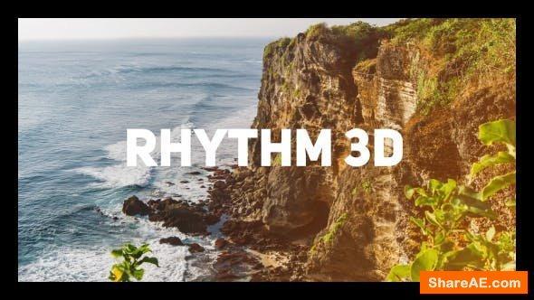 Videohive Rhythm 3D Opener