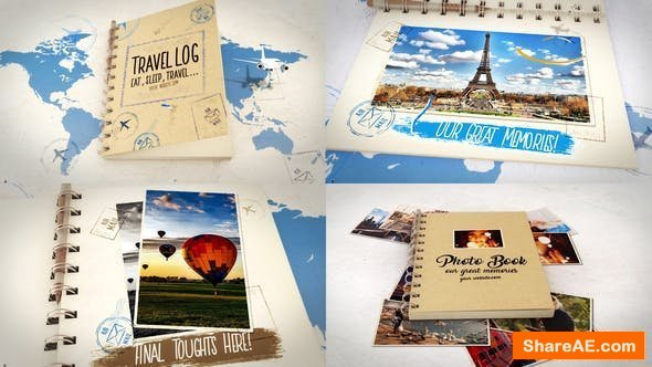 Videohive Travel and Photo Book Bundle