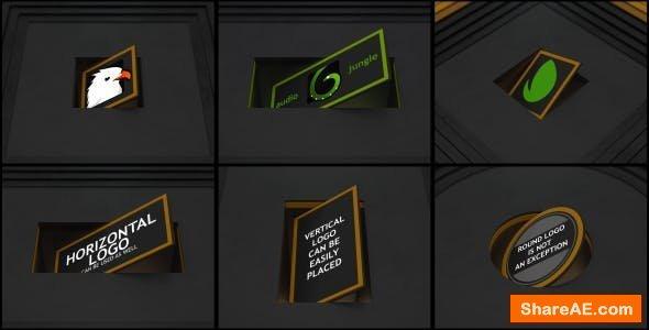 Videohive Rotation Ident (Dark)