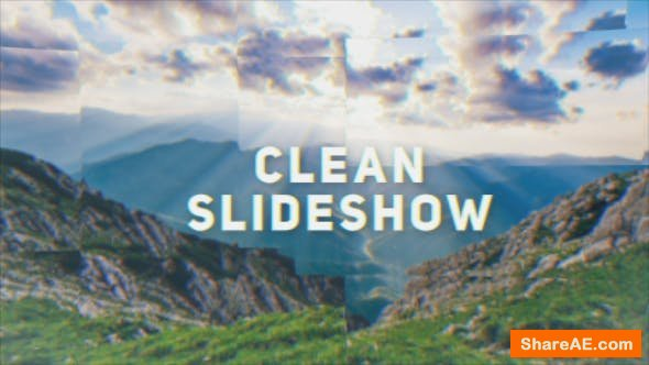 Videohive Clean Dynamic Opener   Slideshow