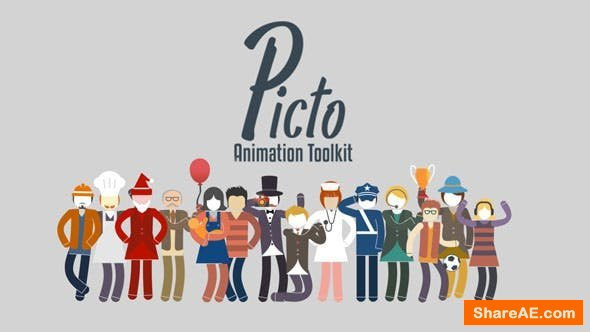 Videohive Picto Animation Toolkit