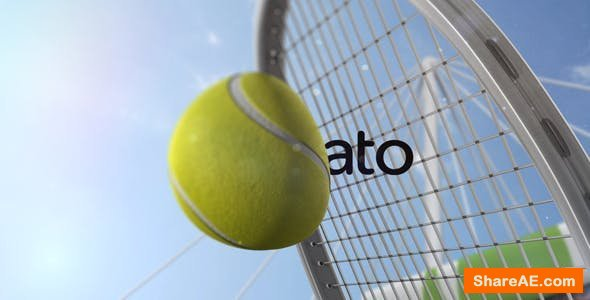 Videohive Tennis Slow Motion Reveal