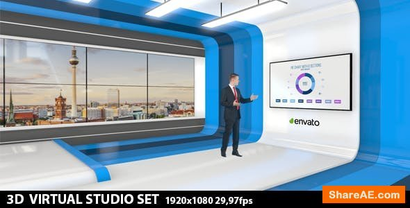 Videohive Multipurpose Virtual Studio 2