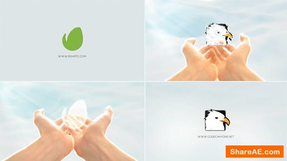 Videohive Logo In Hands