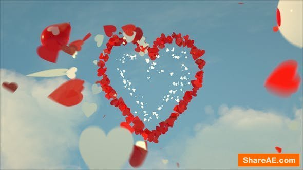Videohive Valentine's Day Greeting Card