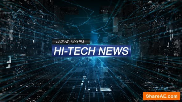 Videohive Hi-Tech News