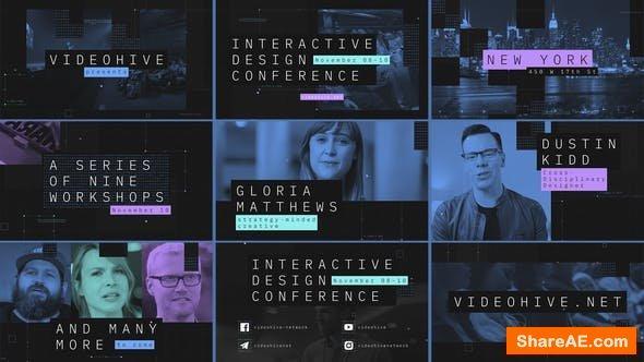 Videohive Interactive Design Conference - Event Promo