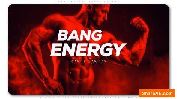 Videohive Bang Energy Sport Opener
