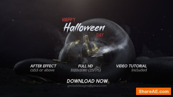 Videohive Halloween Day