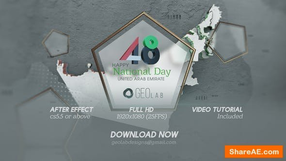 Videohive UAE National Day Template l National Day Celebrations