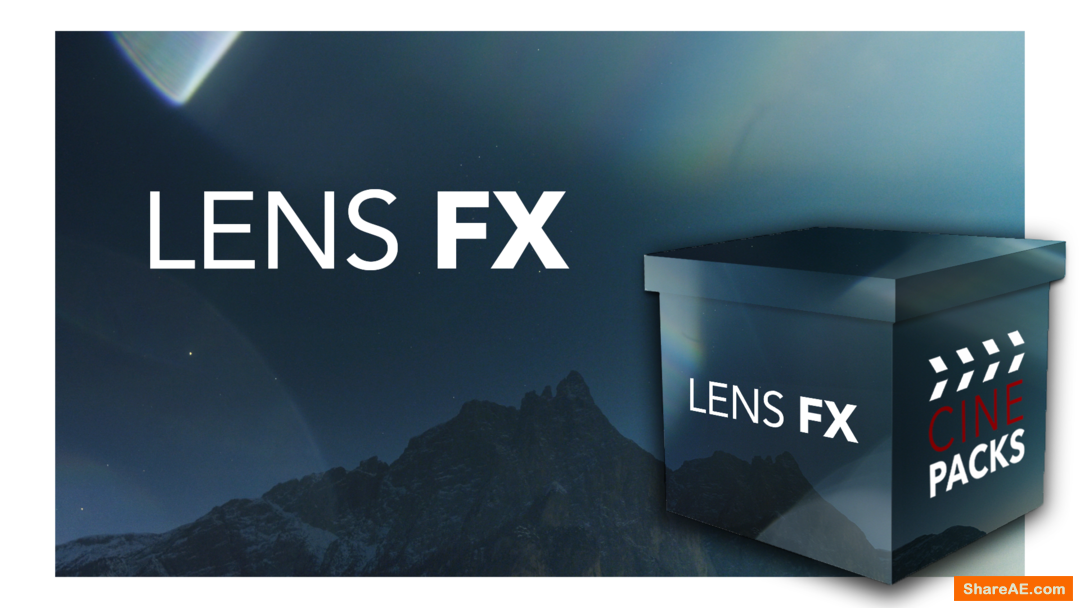 LENS FX 1 - CinePacks