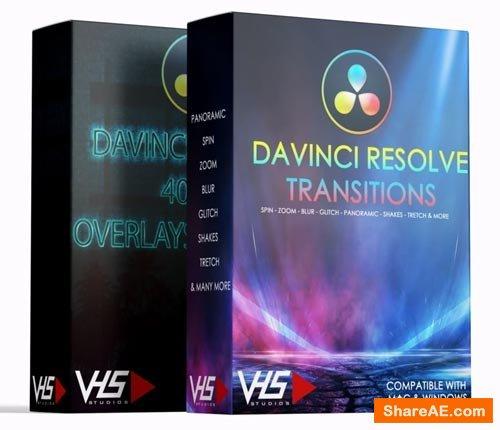 VHS 600+ DaVinci Resolve Deluxe Pack - VHS Studio