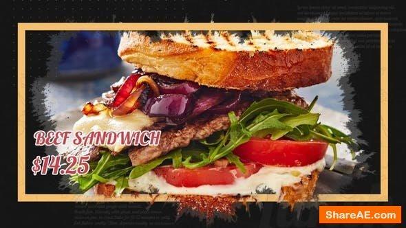 Videohive Delicious Food Promo