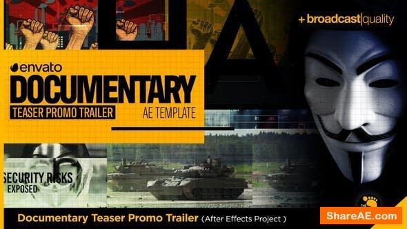 Videohive Documentary Teaser Promo Trailer