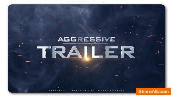 Videohive Aggressive Trailer