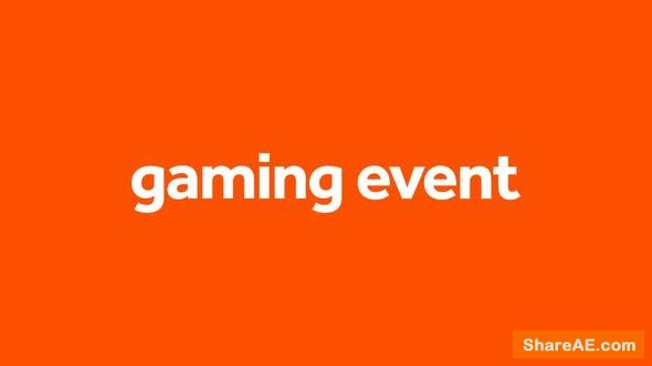 Videohive Gaming Event