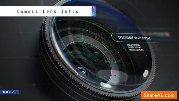 Videohive Camera Lens Intro