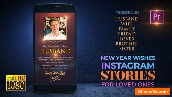 Videohive New Year Wishes for Loved Ones_Instagram Premiere - PRO