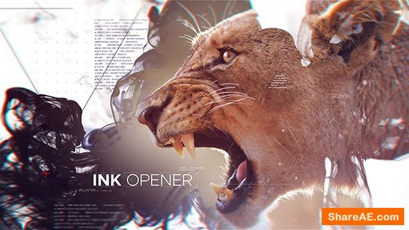 Videohive Ink Opener 21246153