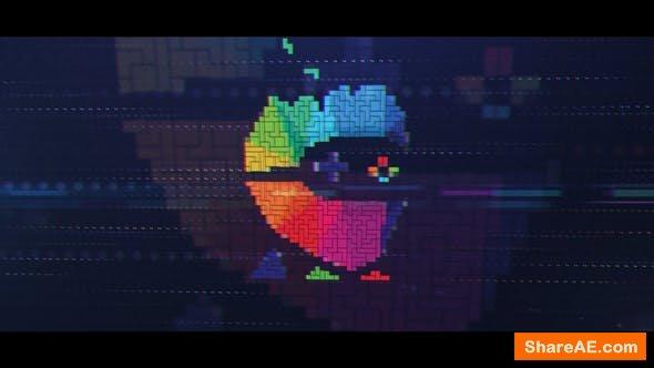 Videohive Brick Game Logo