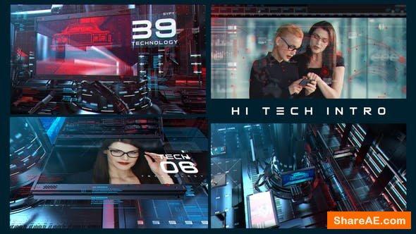 Videohive Hi Tech Opener 23920816