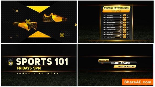 Videohive Sports Broadcast 4k