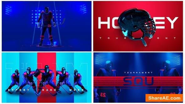 Videohive Hockey Broadcast Pack