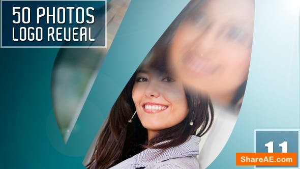 Videohive 50 Photo Logo Reveal
