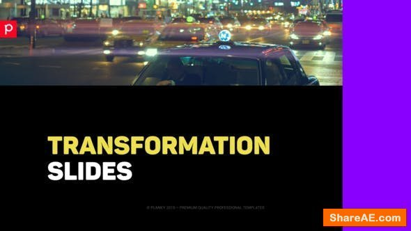 Videohive Transformation Slides