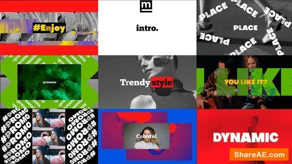 Videohive Bold Dynamic Intro