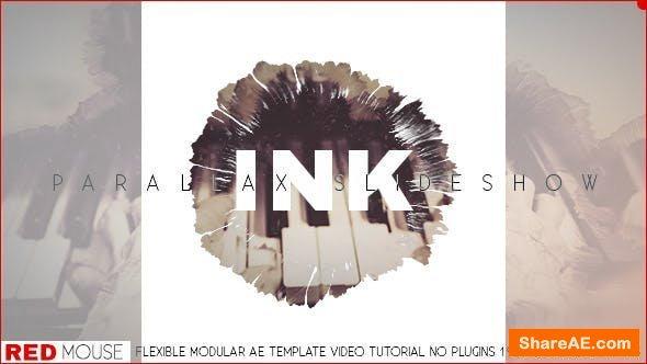 Videohive Ink Slideshow 18013356