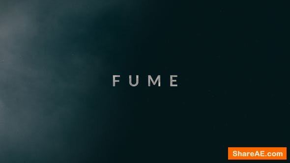 Videohive Fume | Trailer Titles