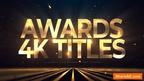 Videohive Awards 4K Titles | Lines