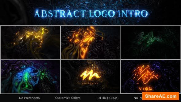 Videohive Abstract Logo Intro