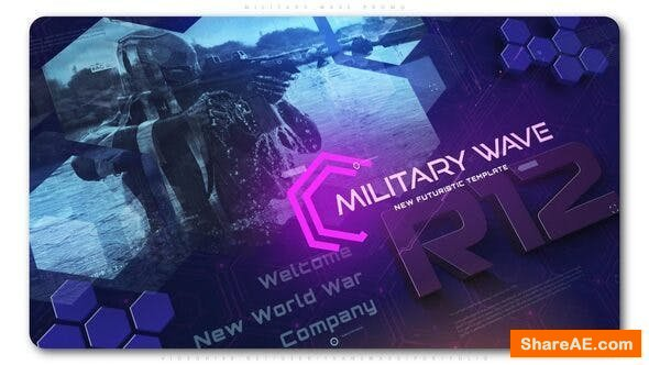 Videohive Military Wave Techno Promo