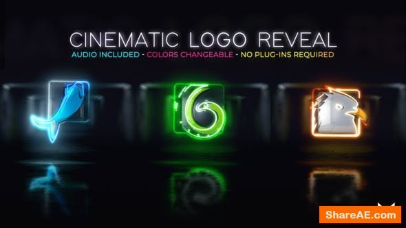 Videohive Cinematic Logo Reveal 25380358