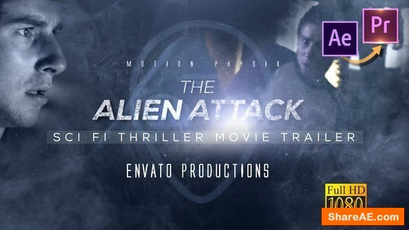 Videohive Scifi Thriller Movie Trailer - Premiere PRO