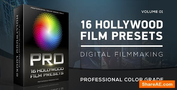 Videohive Hollywood Film Color Grading