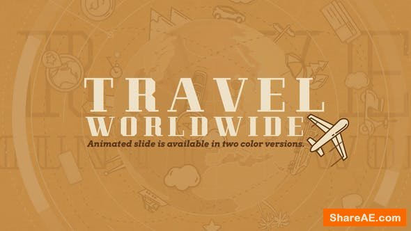 Videohive Travel Worldwide