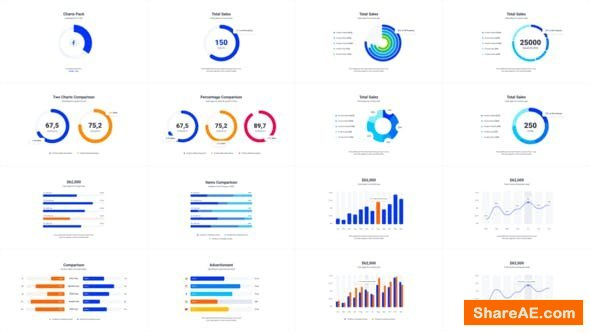 Videohive Infographics Charts Pack