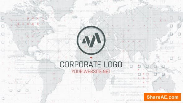 Videohive Corporate Map Logo