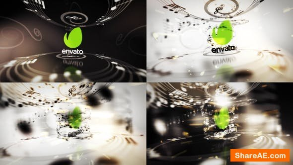 Videohive Music Logo Reveals