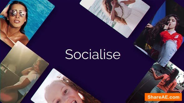 Videohive Socialise